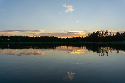 Sunset on the Baltic Sea, Southwestern Finland