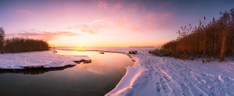 Toppila Sunset Pano #2