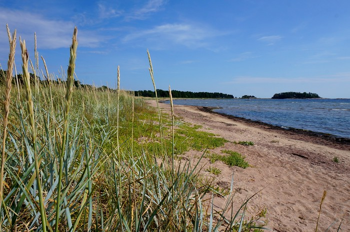 Miles and miles of beaches in Hanko, Finland