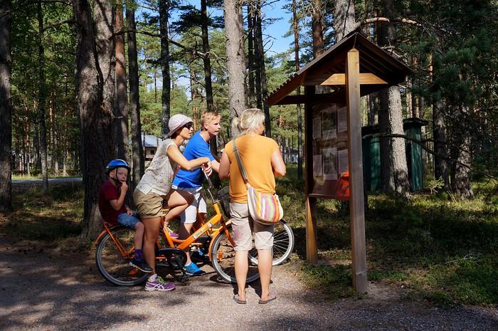 Biking in Hanko
