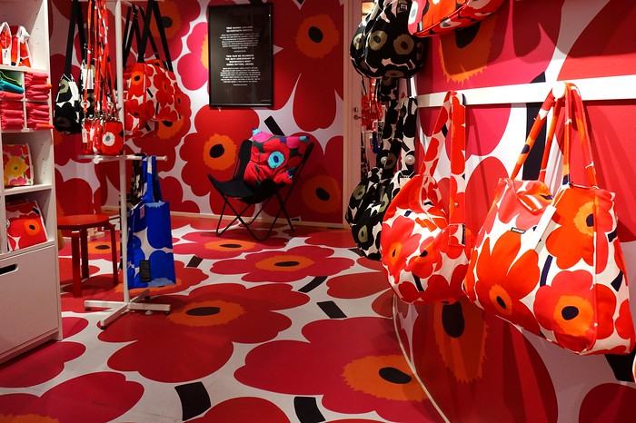 Shop at Marimekko - one of the top things to do in Helsinki if you're into design.