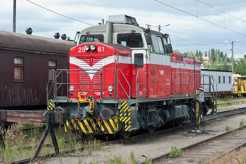 Dv12 2561 at Riihimaki on 10 August 2012