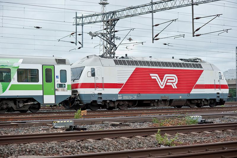 VR Sr1 3207 Pasila 7 August 2012