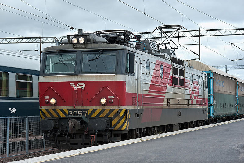 Sr1 3057 at Kouvola on 10 August 2012
