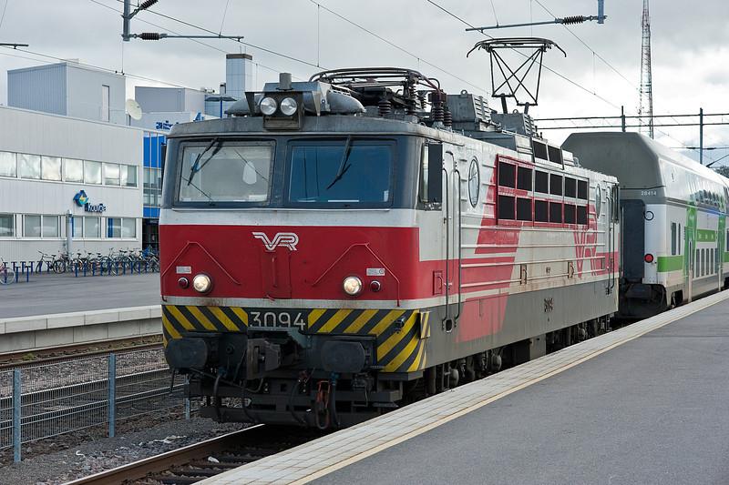 Sr1 3090 at Kouvola on 10 August 2012