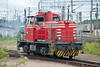 Dr14 1873 goes about its work in the yard at Kouvola on 8 August 2012