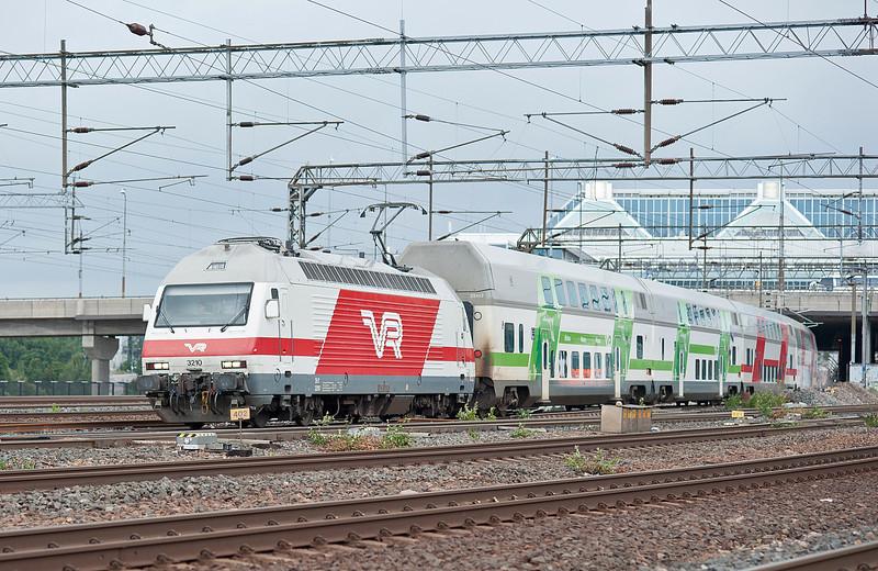 VR Sr2 3210 Pasila 7 August 2012