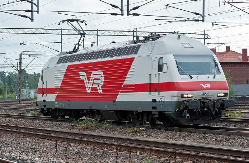 VR Sr2 3222 Pasila 7 August 2012