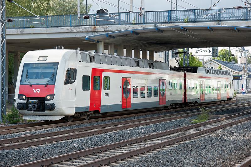 Sm4 6424/6324 leaves Kerava on 8 August 2012