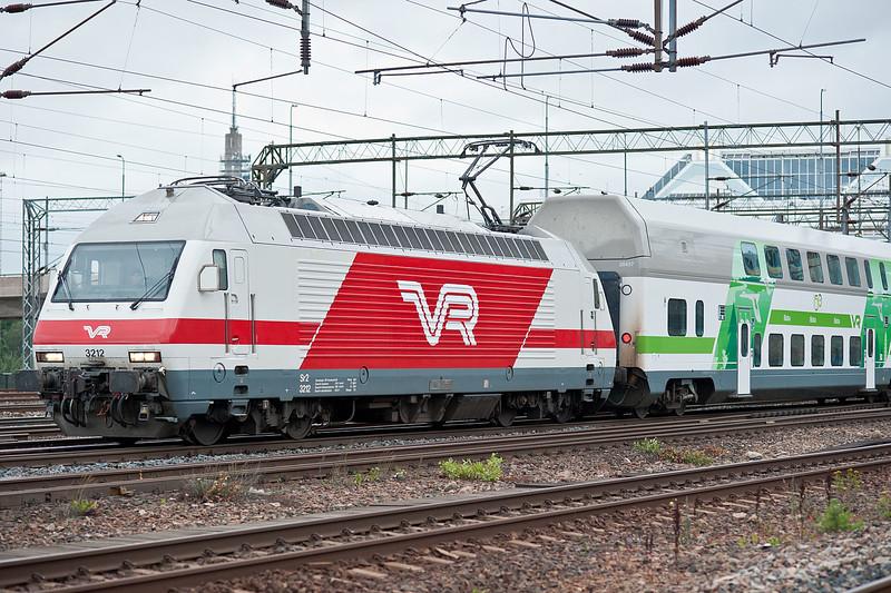 VR Sr2 3212 Pasila 7 August 2012