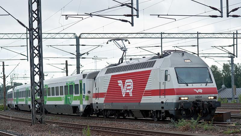 VR2 3204 Pasila 7 August 2012