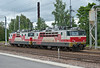 Sr1 3065 and 3104 move off to the yards at Kouvola on 8 August 2012