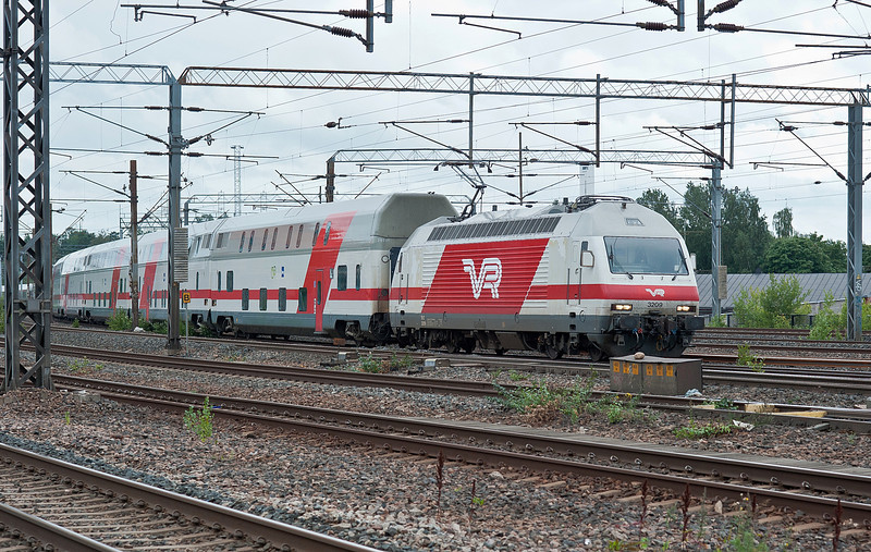 VR Sr2 3209 Pasila 7 August 2012
