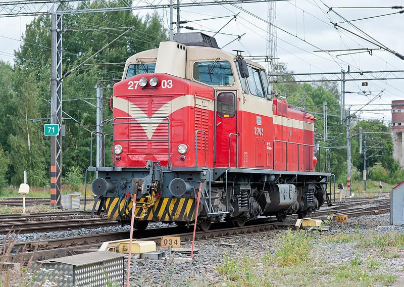 Dv12 2703 at Riihimaki on 10 August 2012