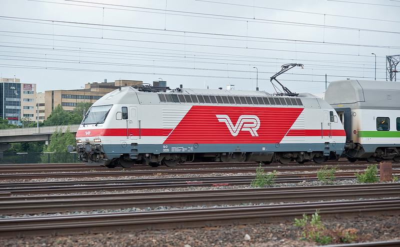 VR Sr2 3225 Pasila 7 August 2012