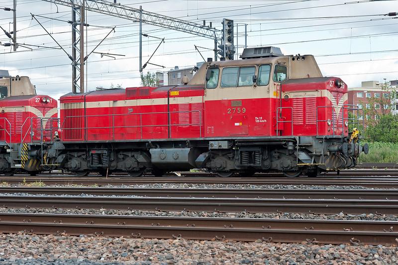 Dv12 2759 at Riihimaki on 9 August 2012