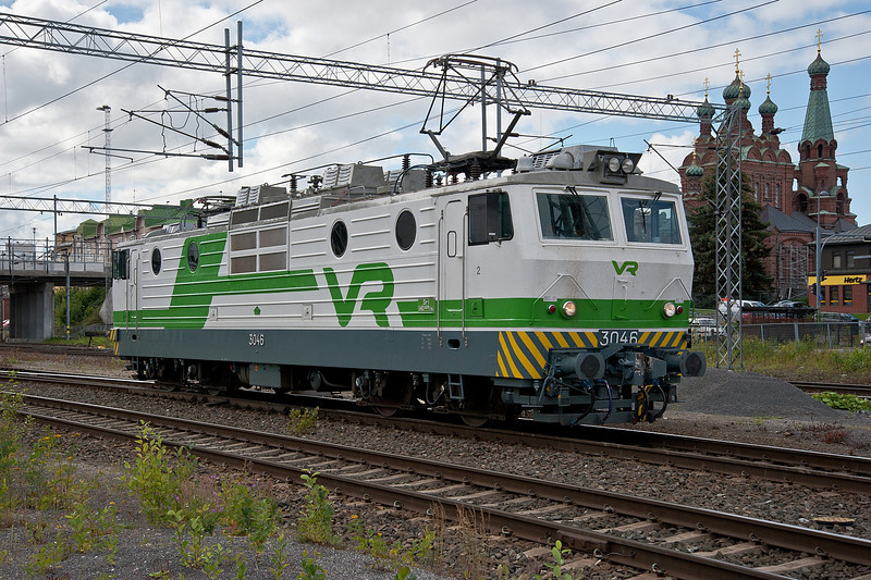 Sr1 3046 at Tampere on 9 August 2012
