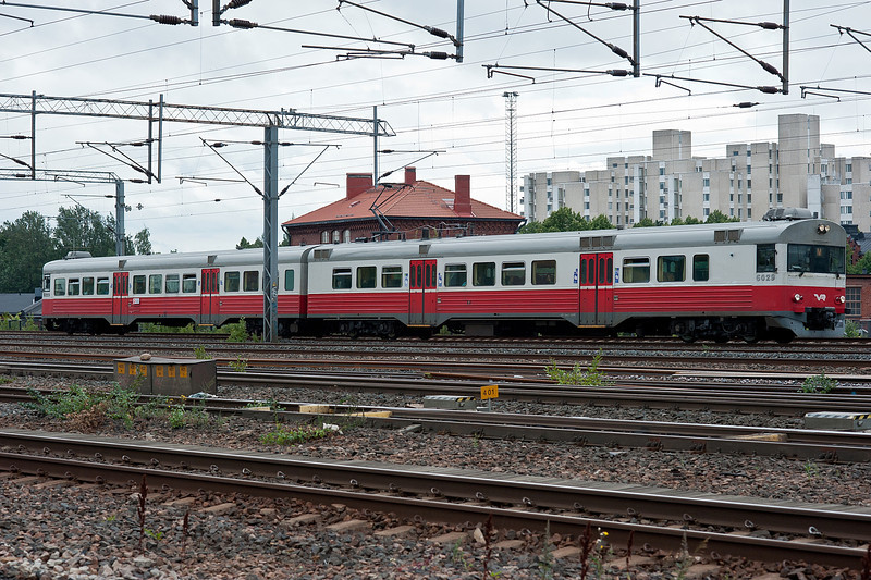 VR Sm1 6029/6229 at Pasila 7 August 2012
