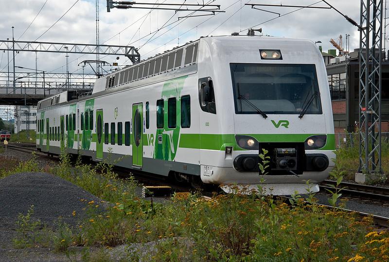 Sm4 6303/6403 arrives at Tampere on 9 August 2012