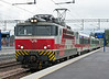 Sr1 3015 arrives with an IC service from Pieksamaki at Kouvola on 8 August 2012