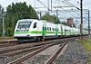 Sm3 Pendolino Set 03 passes through Riihimaki on 10 August 2012