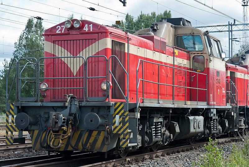 Dv12 2741 at Riihimaki on 9 August 2012