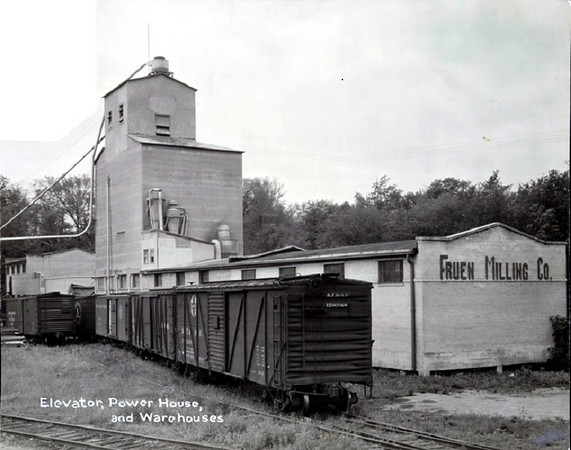 Fruen Mill - - Elevator, Power House and warehouse - c.1940