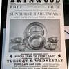 Tableware sales at Brynwood Theatre - - - c.1955?