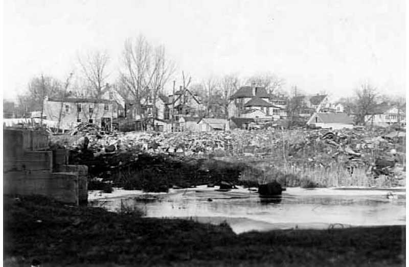 Bassett's Creek Minneapolis  --  c.1925