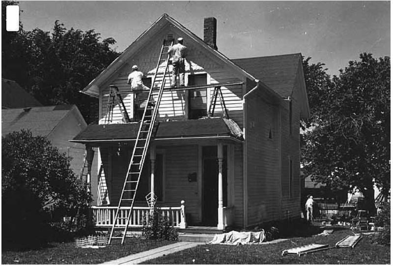 1916 Glenwood Avenue - - photo taken in 1961