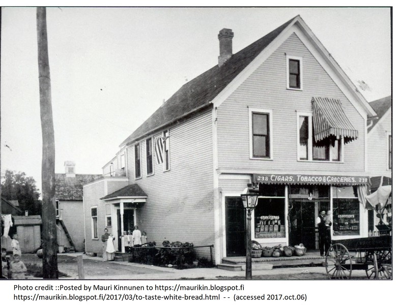 Isaac Anderson's Humboldt Avenue Grocery Store - 1906