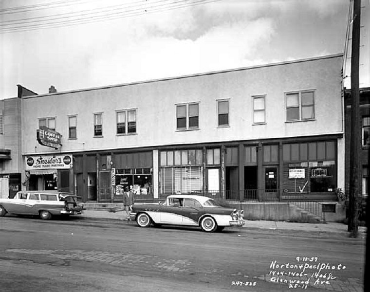1404-1412 Glenwood Avenue - - 1957