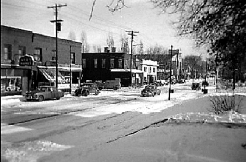 Glenwood Avenue at Morgan Avenue North - c.1950