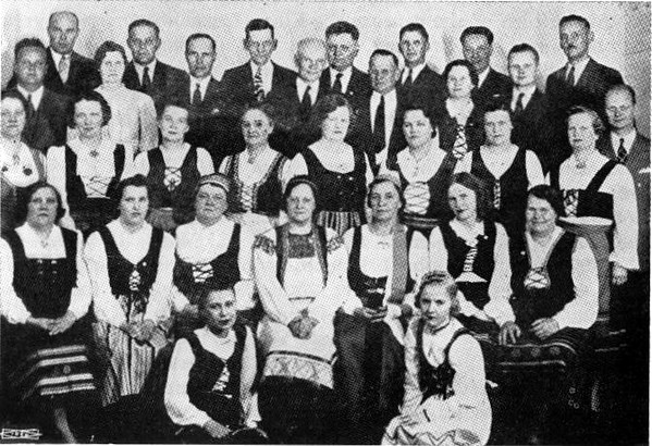 Minneapolis Finnish choral group - - - circa 1935 ?