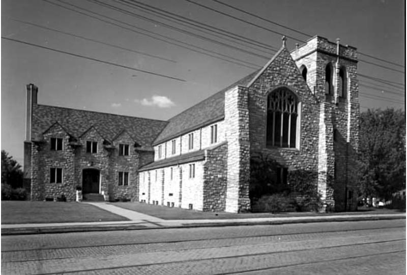 Redeemer Lutheran Church,  1800 Glenwood Avenue  ----  1949