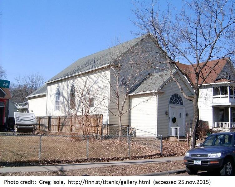 237 Humboldt Ave. N.- former Finnish Apostolic Lutheran Church- built 1902 (photo 2007)
