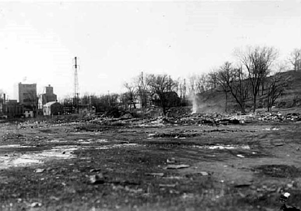 Bassett's Creek valley (west of Penn Ave. a block or two) -- 1933