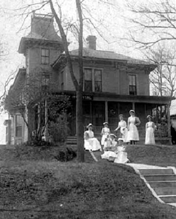 Minneapolis Maternity Hospital, 2215 Western Avenue -- c.1905