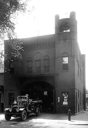 Old Fire Department Station 16 - at 5th and James Ave. N.