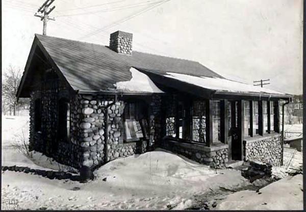 Sick baby isolation bungalow, Ripley Maternity Hospital - c.1922
