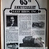 Leef Bros. Inc.  --  65th Anniversary