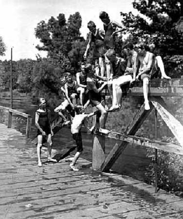 Bassett's Creek  --  c.1920