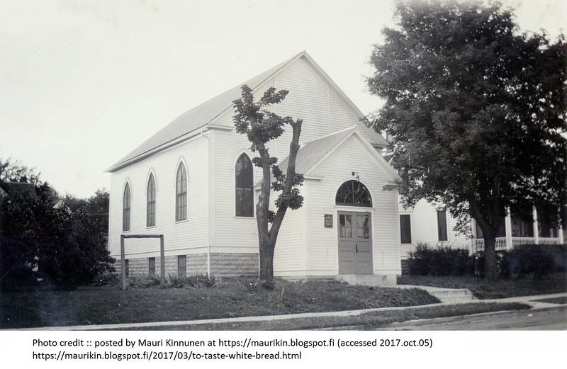 c.1920s -- 237 Humboldt Av N -- Finnish Apostolic Lutheran Church