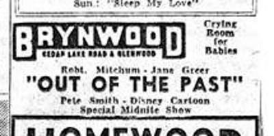 1948 Brynwood Theater ad from Minneapolis Tribune