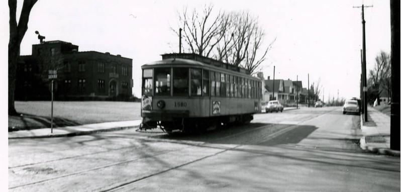Glenwood Avenue at Penn Avenue North.   --  1954