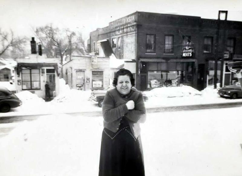 Glenwood Avenue between Morgan and Newton - - c.1950