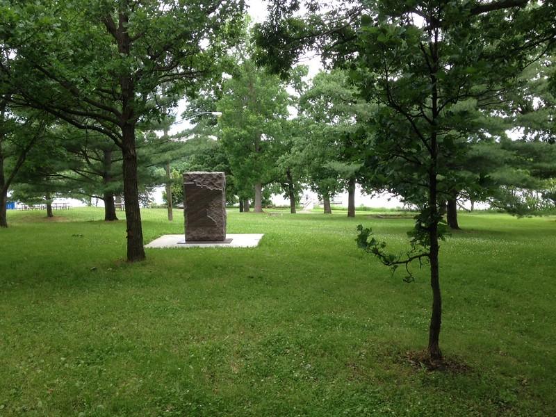 Finnish Monument in Wirth Park - near Wirth Lake
