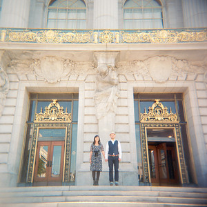 Fiona and Ted City Hall All Photos Color