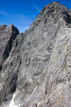 North Face of Te Wera, Darran Mountains, Fiordland National Park