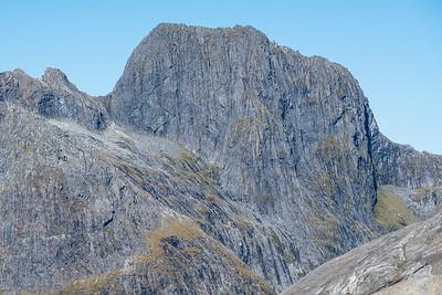 Pt 1836 (west of Access Peak), Sheerdown Hills, Fiordland National Park